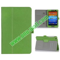 New Arrival Flip Stand PU Leather Flip Case for Lenovo A8-50 A5500 with Card Slots