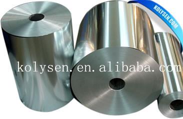 Kolysen feuille d'aluminium emballage film pour le chocolat
