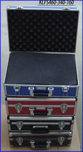 Custom Design Aluminum case with ABS plastic tool box