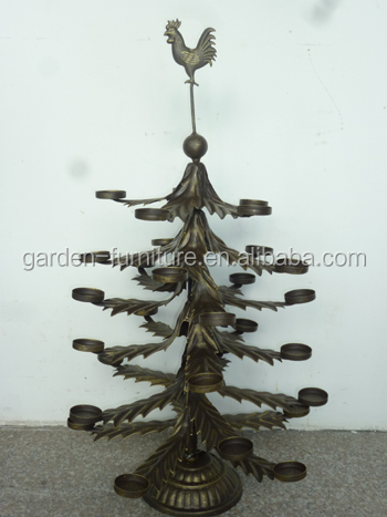 specifications - Metal Christmas Tree Ornament Display