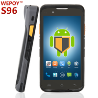 Large screen rugged android mobile phone with barcode scanner Camera wifi Bluetooth wcdma nfc