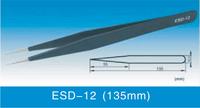 Anti-static Stainless Steel Tweezers ESD-12 ESD Tweezer