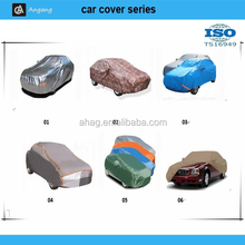 Padded aluminum foil car cover with waterproof function