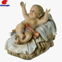 Baby Jesus,Religious Baby Jesus Statue,Resin Jesus Piece