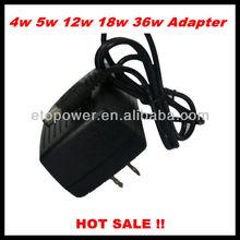 Medical 12v 1.5a dc power adapter with USA plug