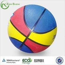 Zhensheng Colored Rubber Basketballs