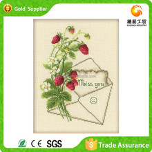 China Provider Hand Work Diamond Drawing Flower Vase Painting Designs