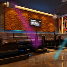 flexible shape and pattern wicker wall panel and pebble wall panels, acoustical wall panel fabric for KTV wall