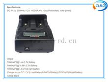 Lion 3.7V Battery Ni-MH1.2V Battery LiFePO4 3.2V Battery charger Soshine H2