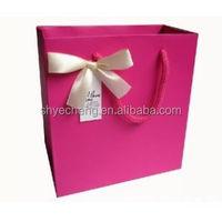 hot sales branded Eco-friendly fancy decorative manufacturer shopping paper gift bag,wedding door gift paper bag