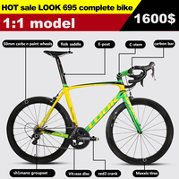 2015 Newest !695 795 carbon road bike cheap price T1000 bicicleta carbono complete road bikes carbon road bicycle, free shipping