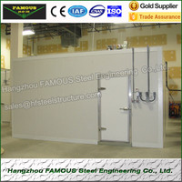 Prefabricated house vegetable refrigerator fruit storage Cold Room panel