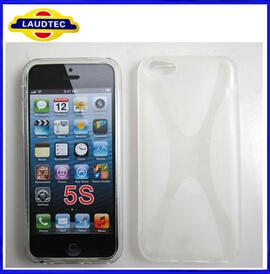 X Linie Case Cover Hülle Cover Case Handytasche Schützhülle für Apple iPhone 5c 5S ---Laudtec