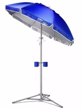 Umbrella Patio Beach Poolside Shade Portable Lightweight Sports Camping Lake