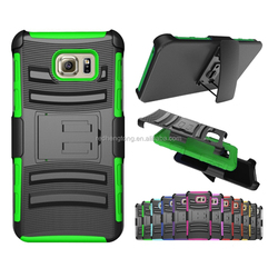 Hybrid Robot Armor Silicone Belt Clip Hard Phone Back Stand Antiskid Kickstand Case Cover For Galaxy Note 5