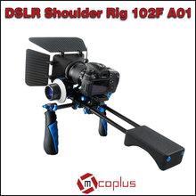 MCOPLUS Stabilizer Shoulder Mount DSLR Rig Combine Use with Matte Box+Follow Focus 102F-A01