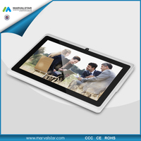 Cheapest a13 firmware 7inch AllWinner Tablet q88 Android 4.1 1.2GHz 512MB/4GB Webcam WiFi HDMI Tablet PC