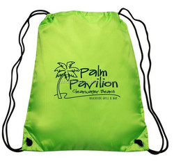 2015 cheap polyester back bags/ folding gift bag/ branded fashion drawstring polyester back bags