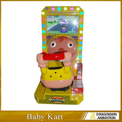2015 hot-sale Baby Kart racing game machine for kids