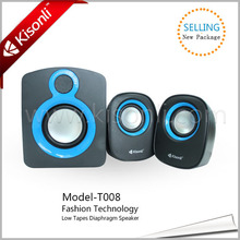 Fashion Design Subwoofer 2.1 Speaker High Quality Sound System With Diaphragm