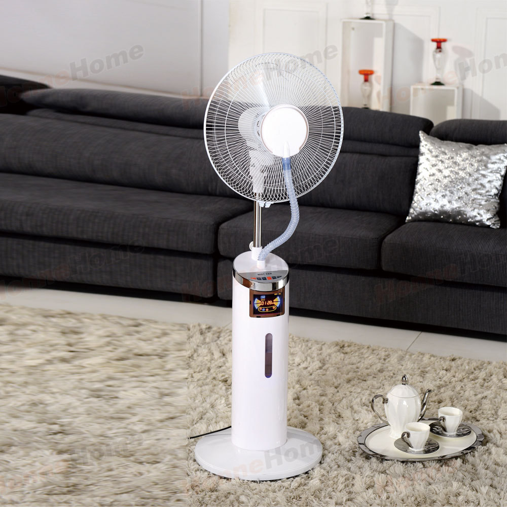 Air Misting Fan : Mist fan with air cooler purifier humidifier and