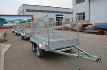 steel Box trailer with 900mm cage