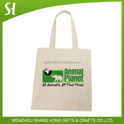 China eco Art Canvas Tote Bag for Tourism promotion advertising