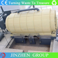 The latest type used tire pyrolysis plant with high output