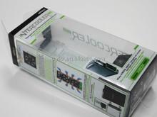 Transparent clear plastic folding pp pvc pet packaging box