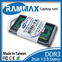 branded export surplus DDR3 SO-dimm 1333MHz 2GB memory module. 256*8*8c Laptop notebook computer memoria ram sodimm rammax