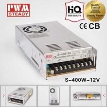 400W 12V dc 33A series single output power supply high quality(S-400-12)