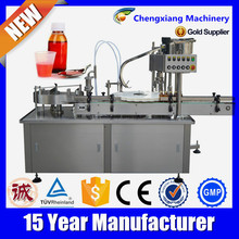 Alibaba china automatic pet bottle filler,syrup filling machine