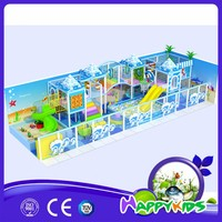 Safety small plastic playground slide kids indoor , small kids playground equipment