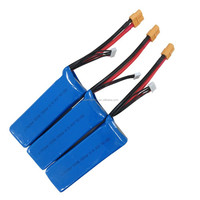 Custom lipo battery 14.8V 25C 1800mAh high rate lithium polymer battery cells pack
