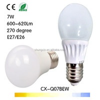 High quality and New Design led e27 7w Epistat SMD2835 led lampada e27 electrical socket