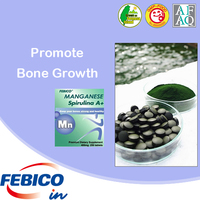 Maintain The Nervous System Natural Spirulina Manganese Tablets Promote Bone Growth Wholesale Nutritional Supplement