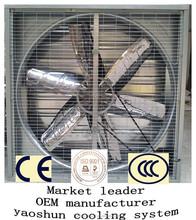 "50"" CE certification negative pressure exhaust fan poultry greenhouse"