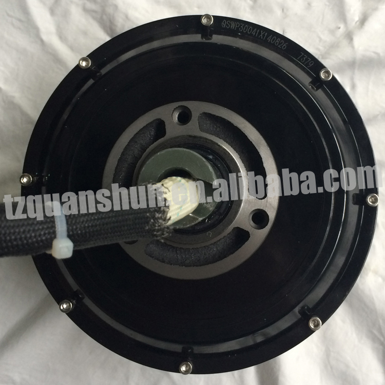3kw 205 Bldc Electric Wheel Hub Motor For Electric Car