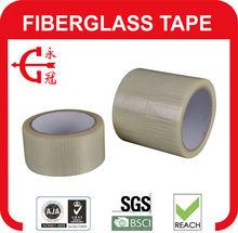 Supply Cross Fiberglass Tape/Glass fiber reinforced filament tape for heavy duty packaging