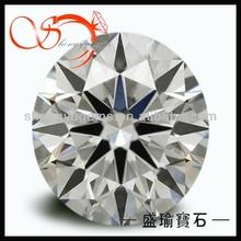 artificial diamond 1mm cz(CZRD01HA-1mm)