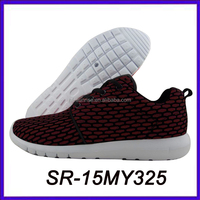 fashion mesh flyknit racer running shoes men vietnam sports shoes manufacturers