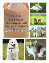DElite All-Natural!1KG/Barrel Food Grade Diatomaceous Earth, Diatomite Powder For Chicken/Horse/Cat/Fish /Dog/Sheep/Cow