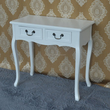 Manufacturer high quality environment wooden white dresser with drawer