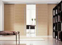 Sliding wooden door lock, sliding door, internal door