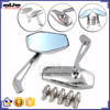 BJ-RM400-07 ALUMINUM HANDLEBAR BAR END MIRRORS MOTORCYCLE