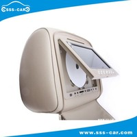 One Pair of 7 Inch Headrest DVD player Monitor (M-708DS)