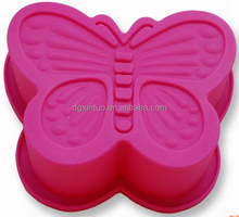 butterfly animal shaped silicone cake mould