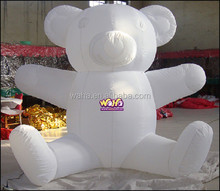 Inflatable animal for party /White inflatable polar BEAR-2M