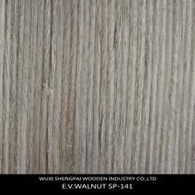 Walnut SP-141 slice cut engineered wood veneer made from log for furniture skins veneer with top trusty quality walnut veneer