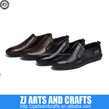 2014 new style stylish leather men's flat loafer shoes